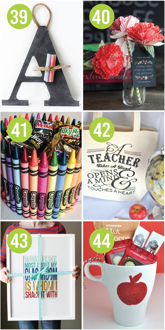 101 quick and easy teacher appreciation ideas diy teacher appreciation gift ideas negle Images