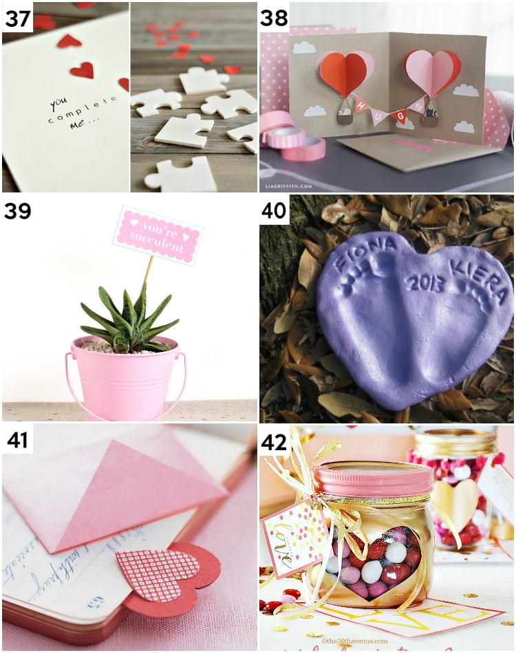 DIY Last Minute Clever Valentine's Gifts for Her