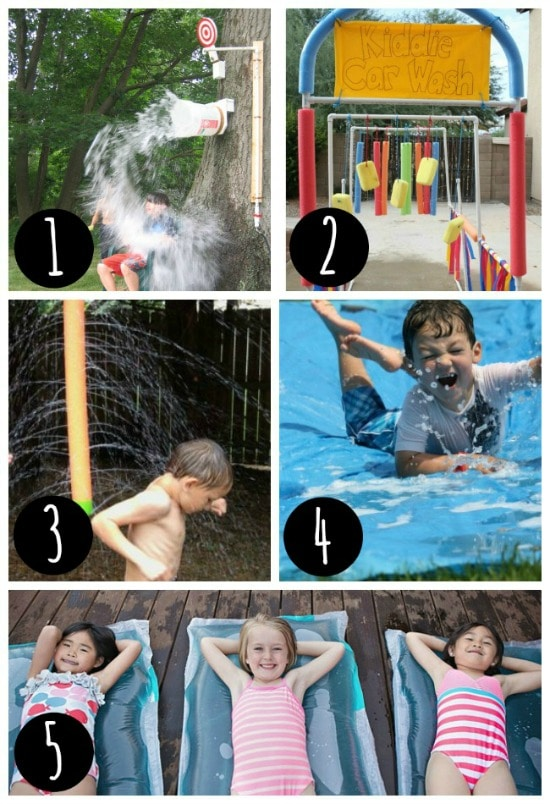 Summertime water toys that everyone will love.