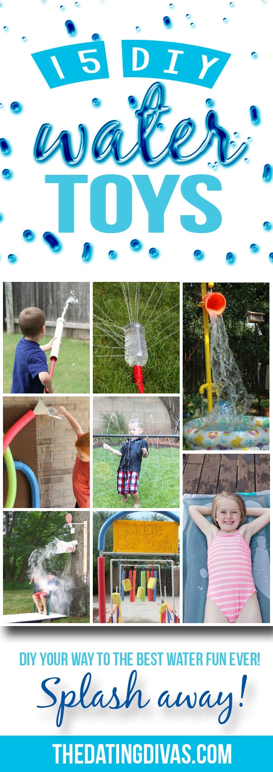 DIY Water Toys To Keep Cool This Summer