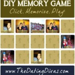 DIY Memory Game {In LESS Than 10 Minutes}