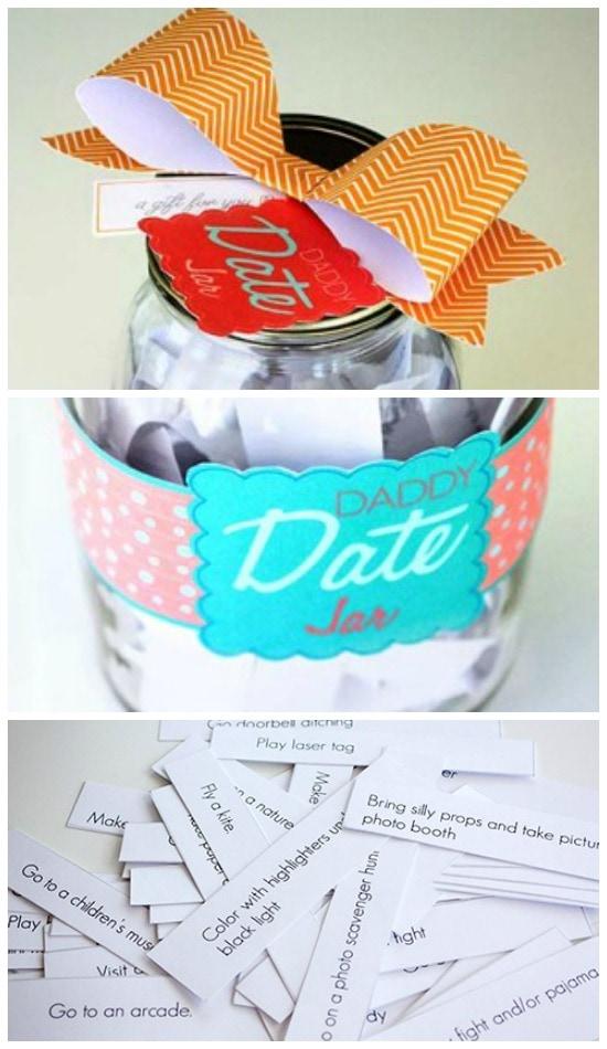 Daddy Date Jar