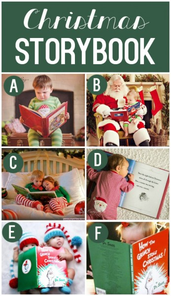 Darling Christmas Photo Prop Ideas