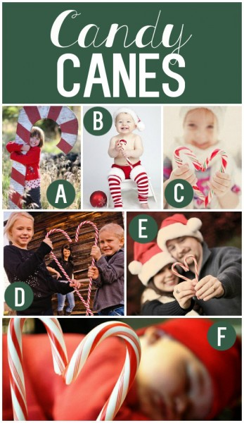 Darling Holiday Photo Props and Ideas