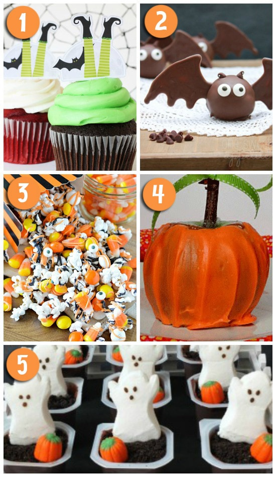 Darling and Delicious Halloween Treat Ideas