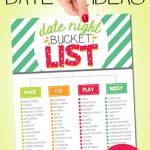 90+ Date Ideas: Printable Date Night Bucket List