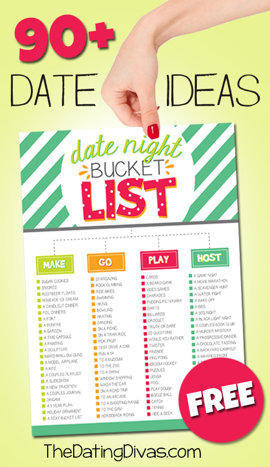 Date Ideas Bucket List