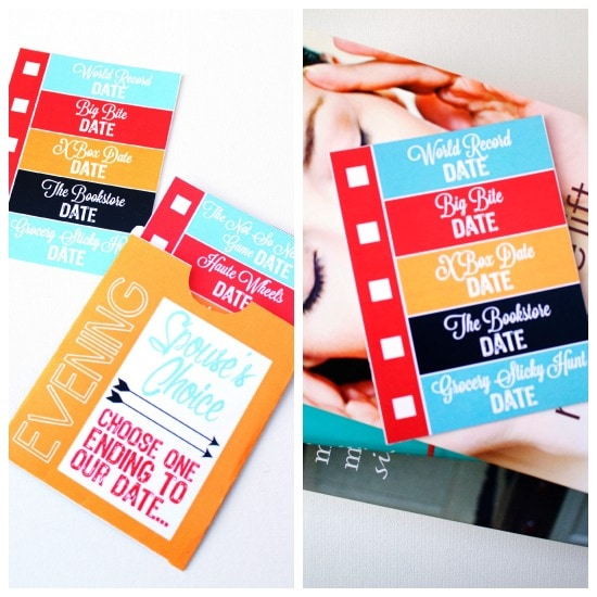 Date Night Ideas and Printables