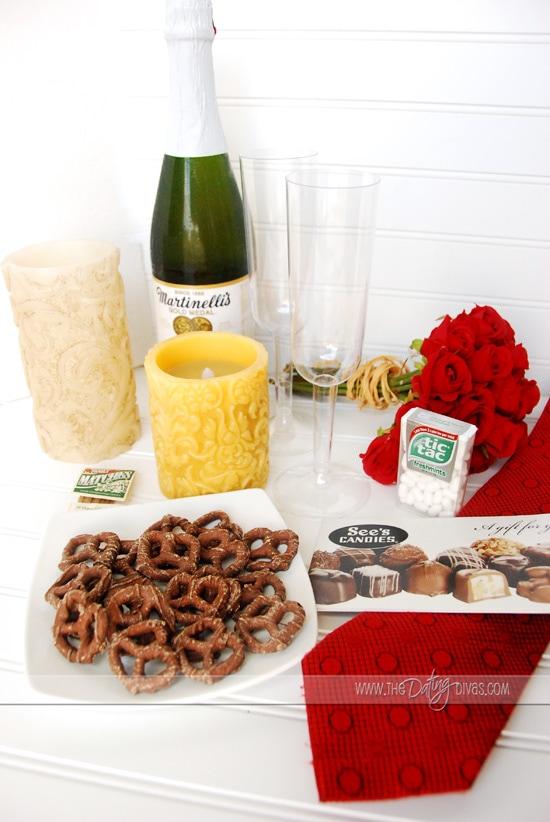 Romantic Date Night Supplies