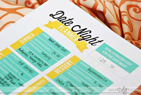 Date Night Swap organizer