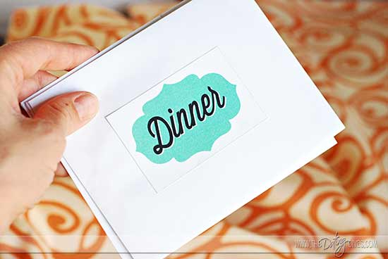 Date Night Swap exchange envelopes