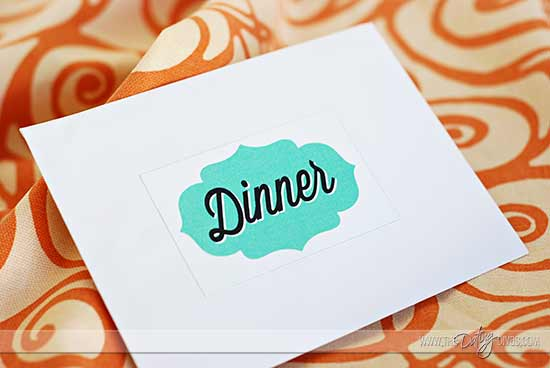 Date Night Swap Envelope