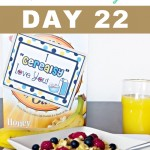 Breakfast Surprise for your Spouse - Divas 30 Day Love Challenge