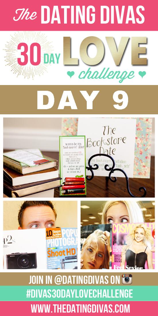 Divas 30 Day Love Challenge - Day 9 - Bookstore Date