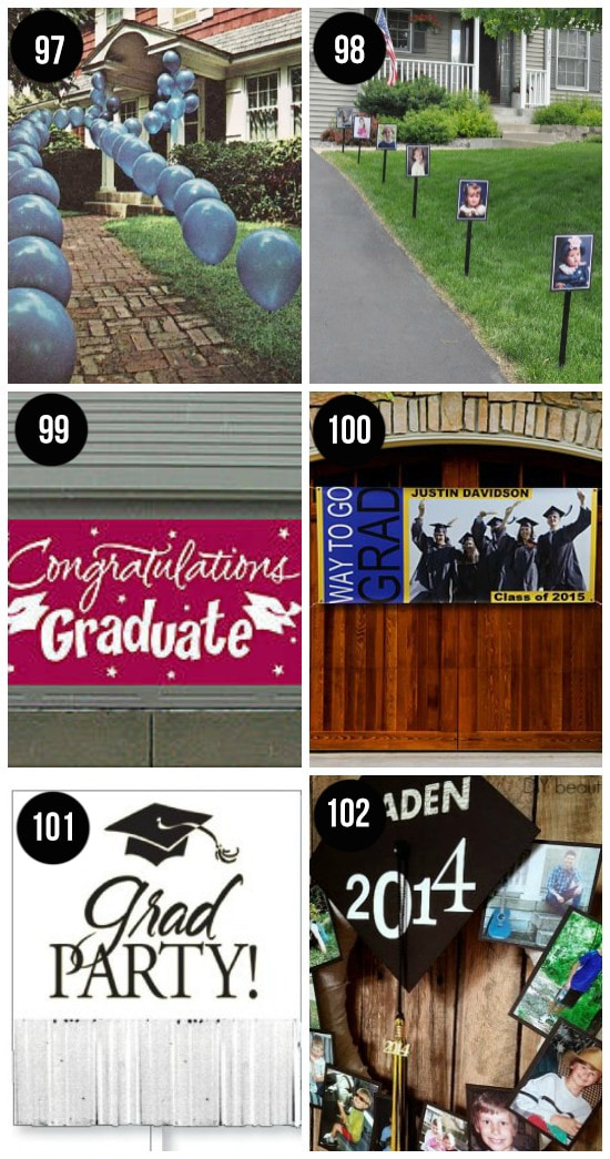 Decorating Ideas for Graduation Party