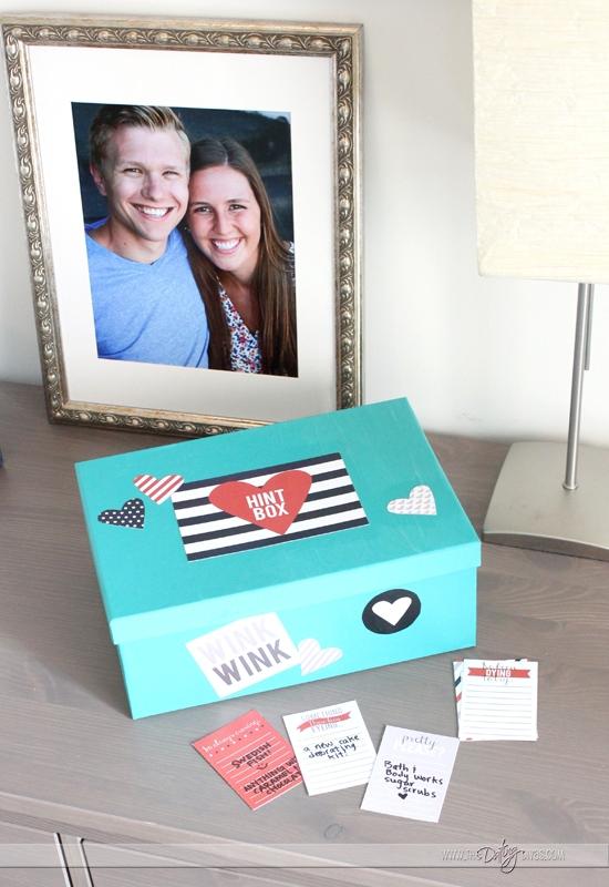 Decorative Hint Box
