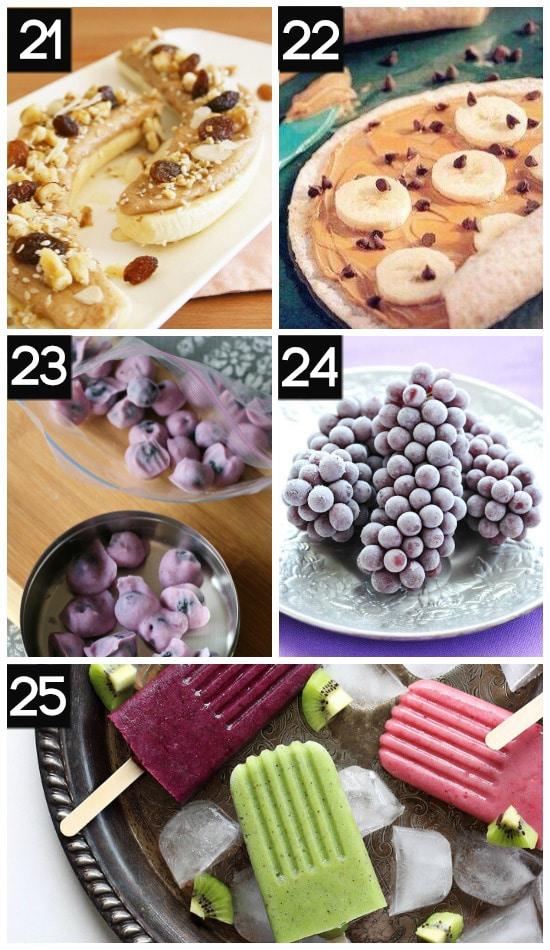 Delicious Healthy Summer Snacks