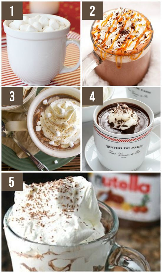20 DELICIOUS Fall Drinks: Choose Your Favorite Hot Chocolate Recipe