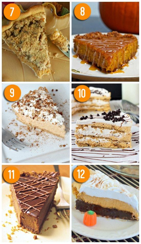 Delicious Pumpkin Pie Alternatives