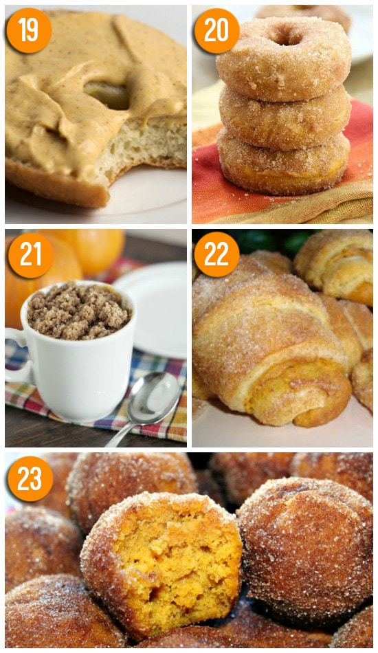 Easy pumpkin recipes to make for a fall breakfast.