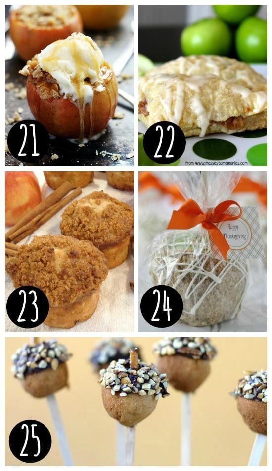 Fall Recipes for Treats For All!