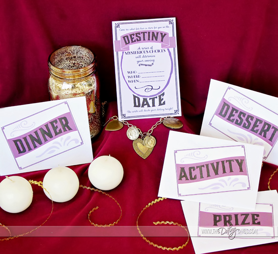 Mystery Choice Date Night Printables