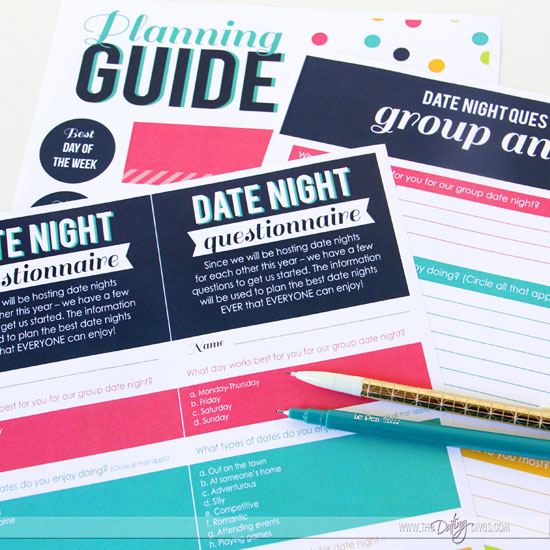 couples date night questionnaire