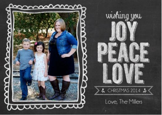 Digital Christmas Card Template- Customizable!