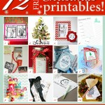 12 FREE Printables for Christmas!