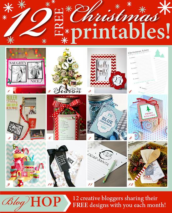 Chrissy - December Printable Club - Grid