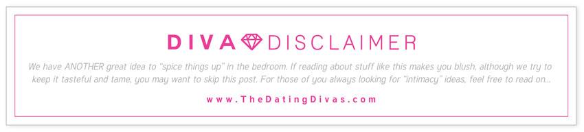 Diva Intimacy Ideas Disclaimer