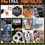 12 FREE Printables for Halloween