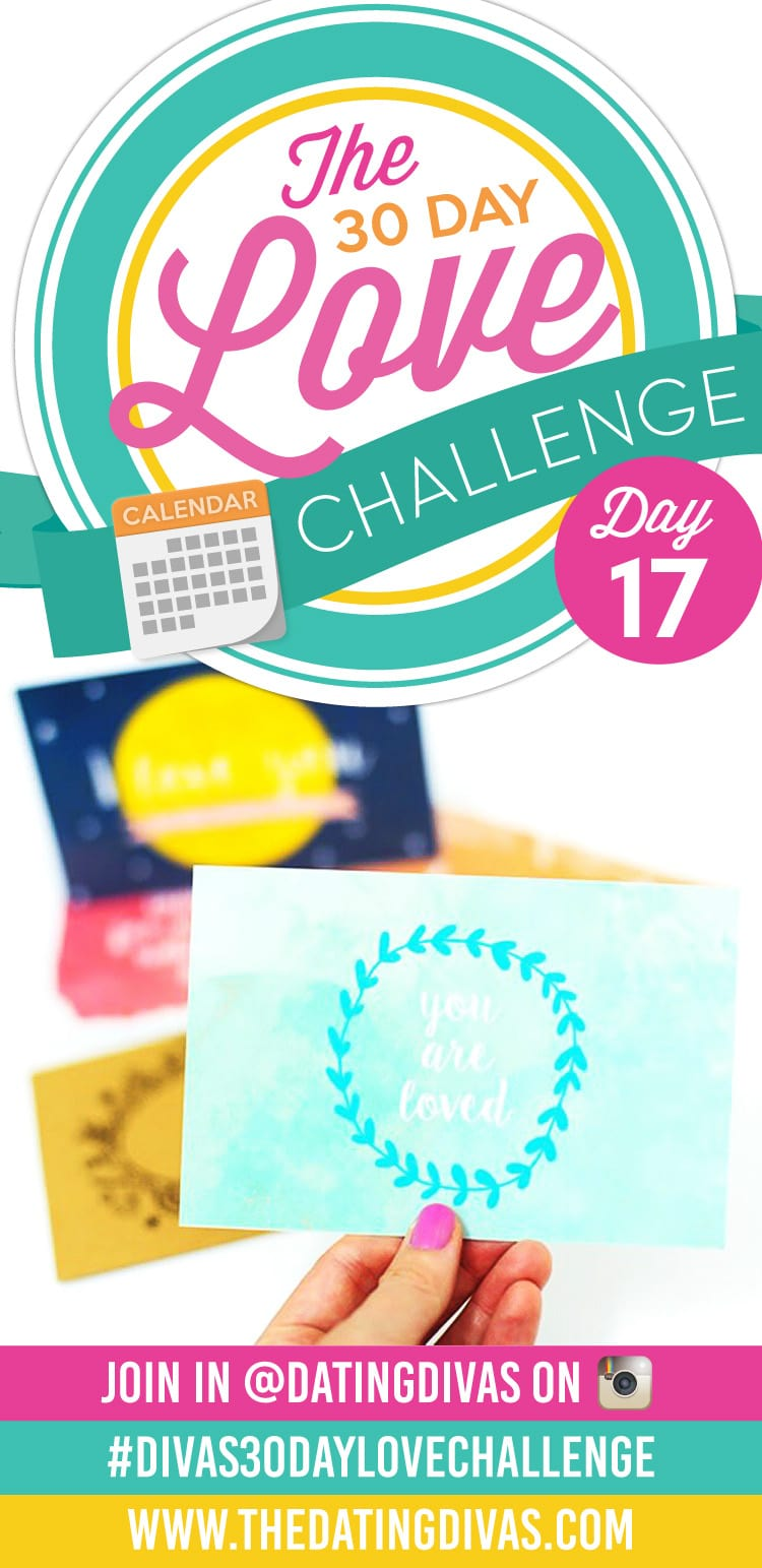 Day 17 of the 30 Day Love Challenge! Sweet, DIY, love postcards!