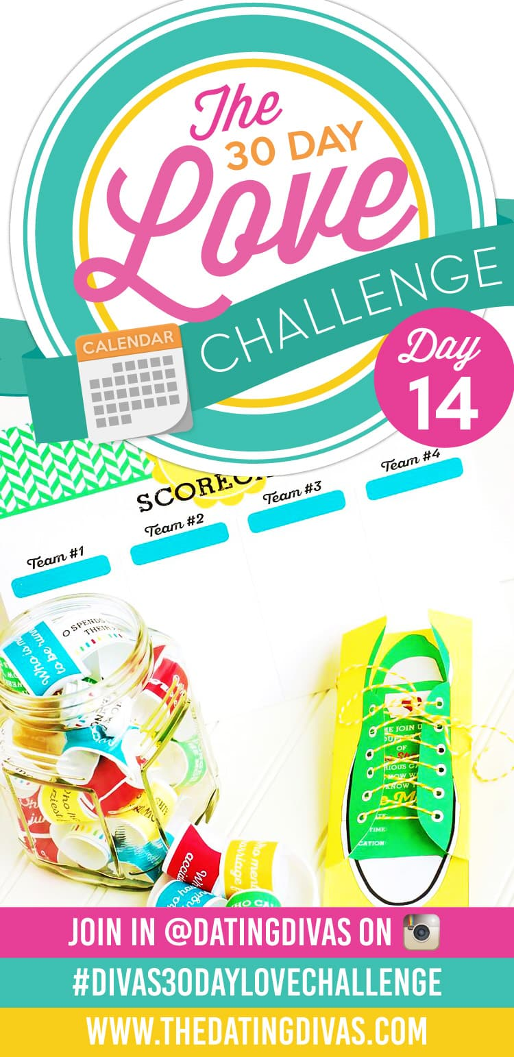 """""""If the Shoe Fits"""" Date Night! Fun and easy date game for the 30 Day Love Challenge!"""