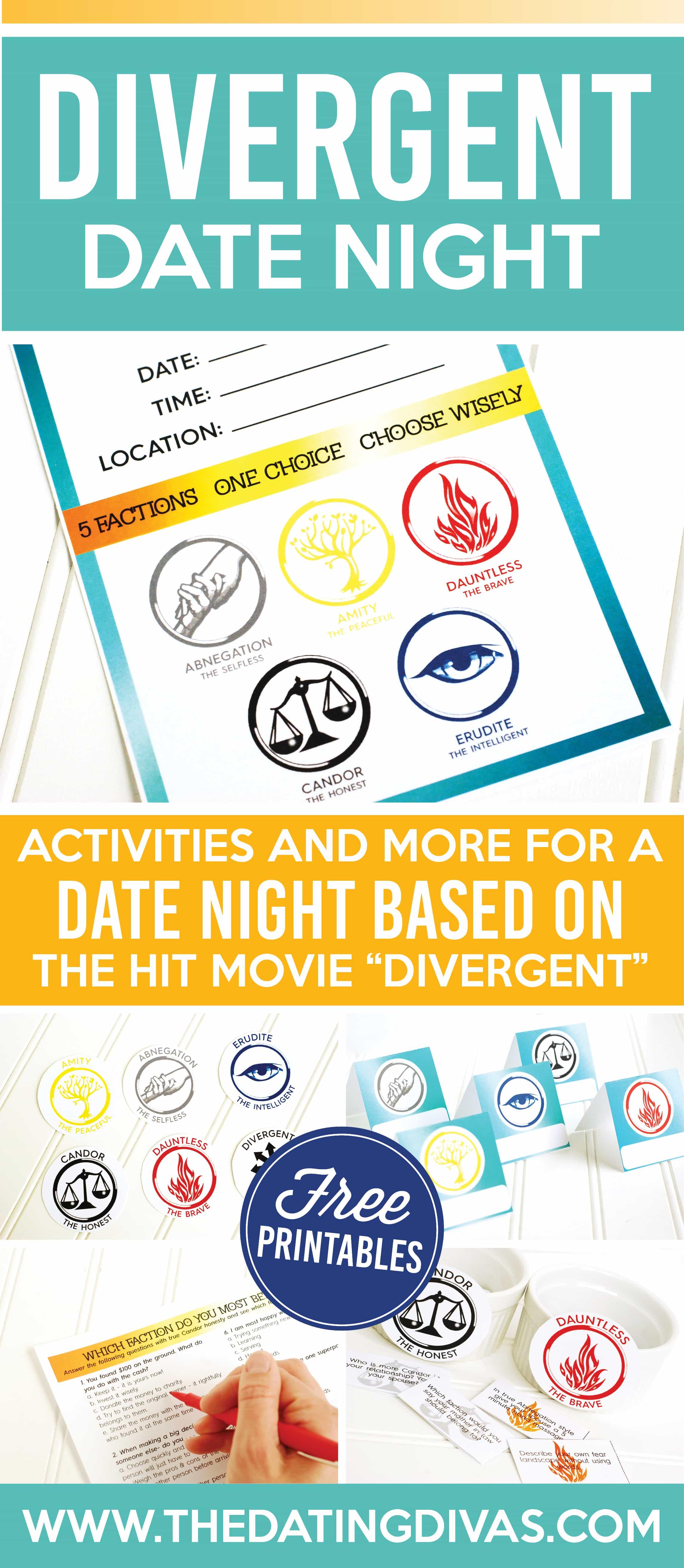 Divergent dating quiz
