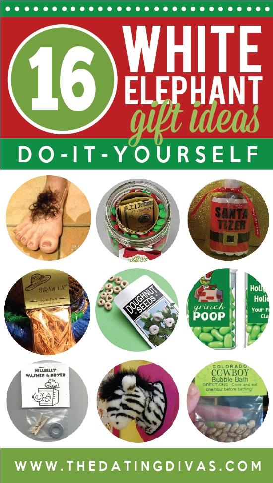 16 DIY White Elephant Gift Ideas