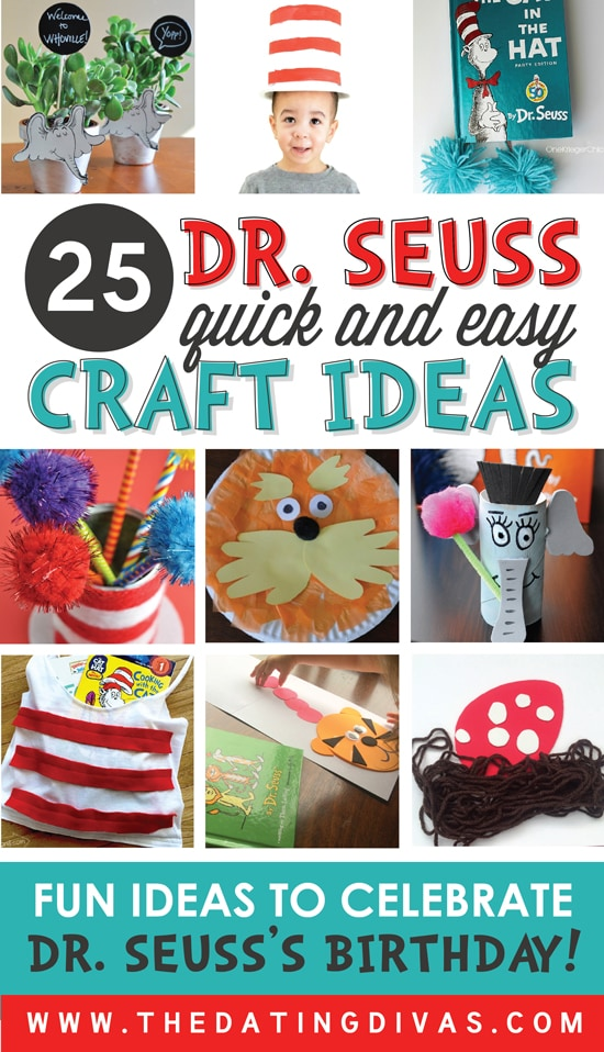 Dr. Seuss Craft Ideas