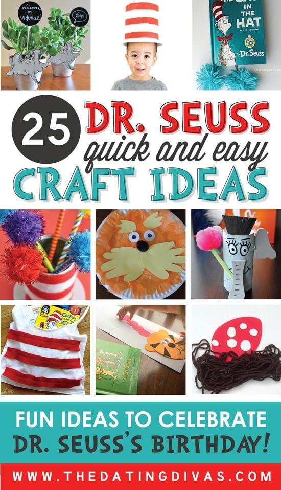 Dr. Seuss Craft Ideas