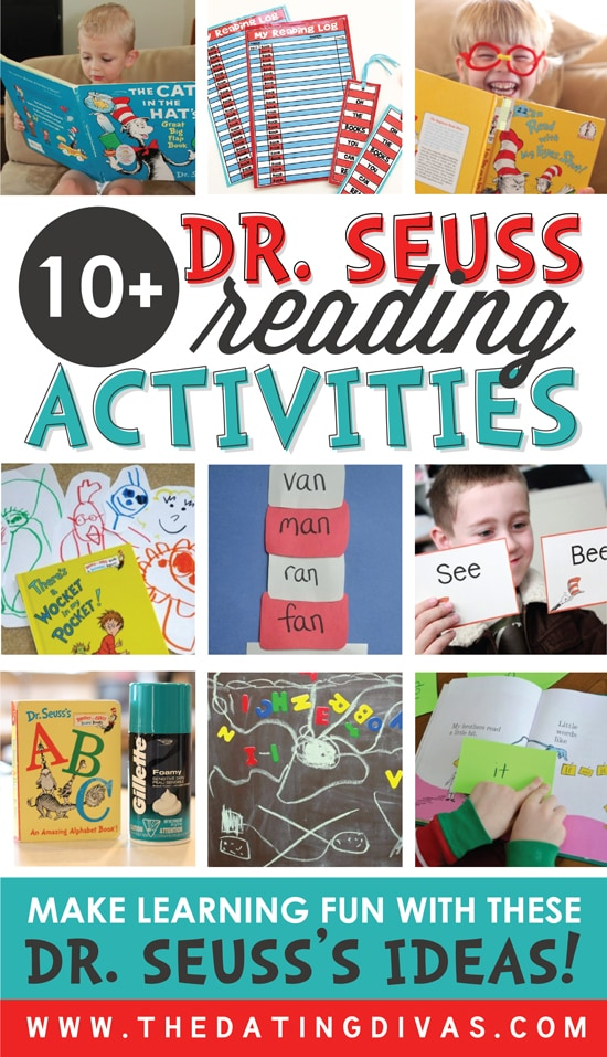 Dr. Seuss Reading Activities