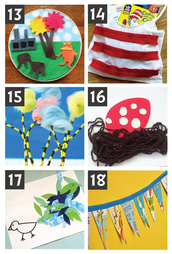 Dr. Suess Craft Ideas