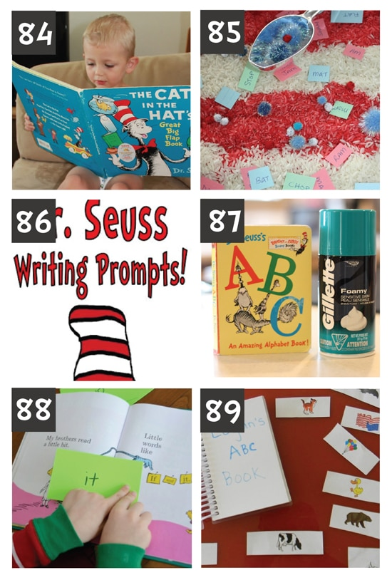 Dr. Suess Reading Activities