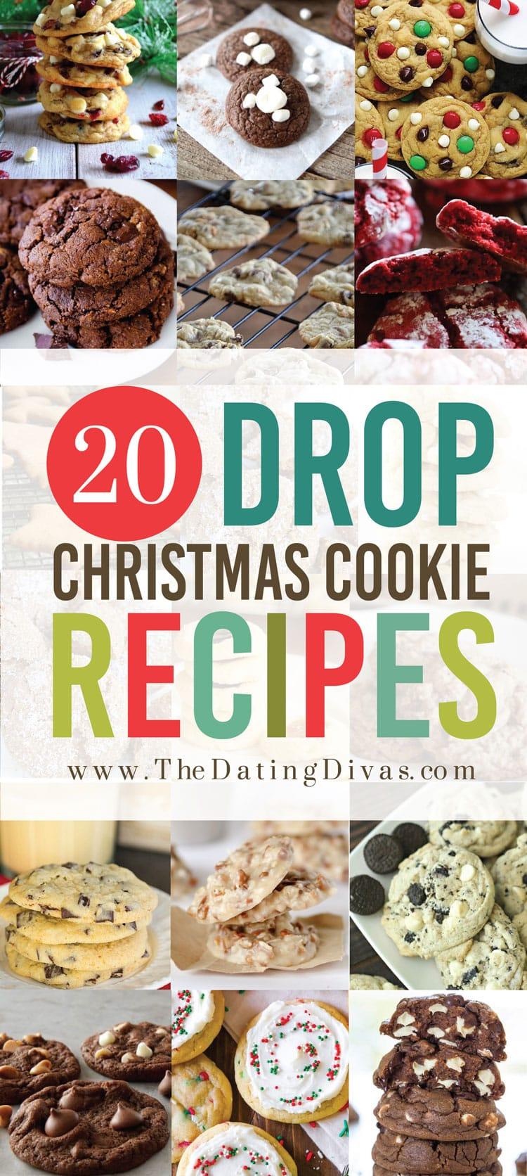 Drop Christmas Cookies