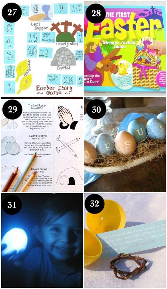 Easter Activities for kids that help keep Easter about Jesus.