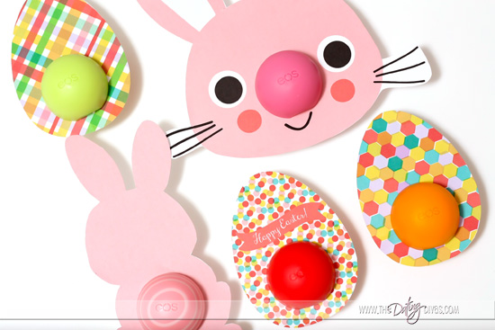 Easter EOS Chapstick Printables