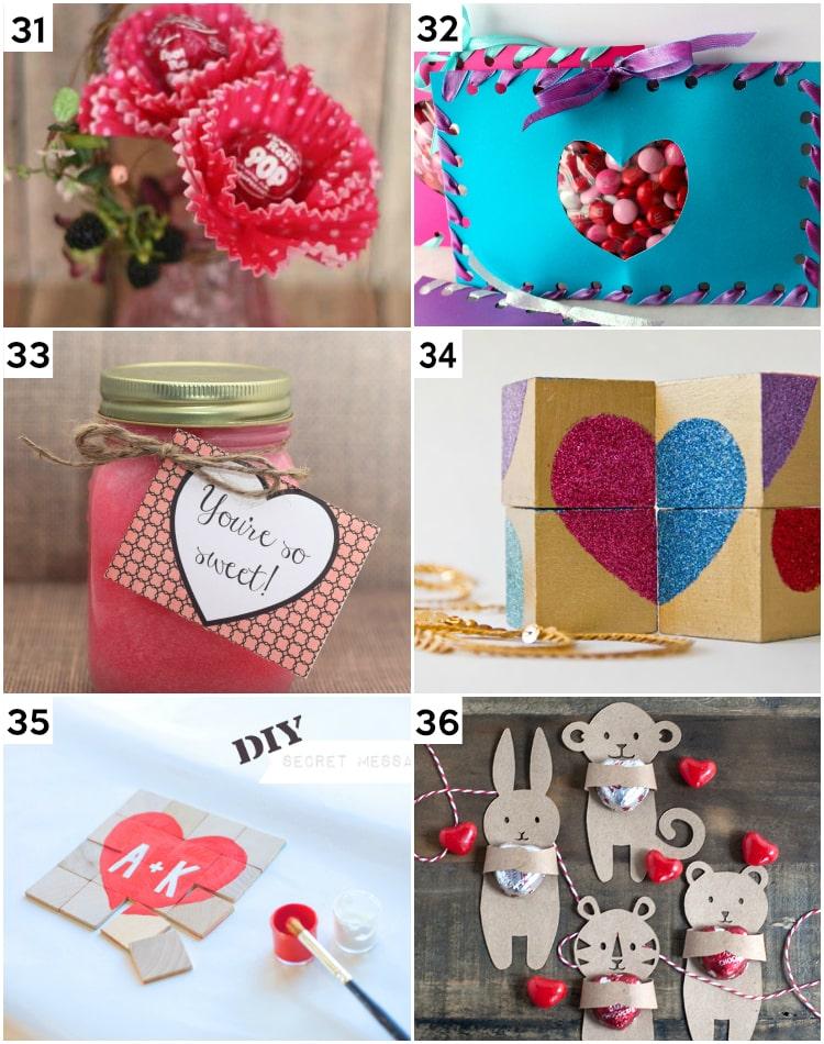 Easy DIY Valentine's Gift Ideas