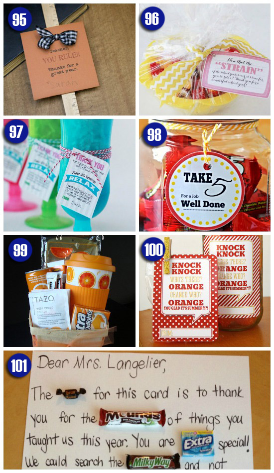 easy end of the year teacher gift ideas