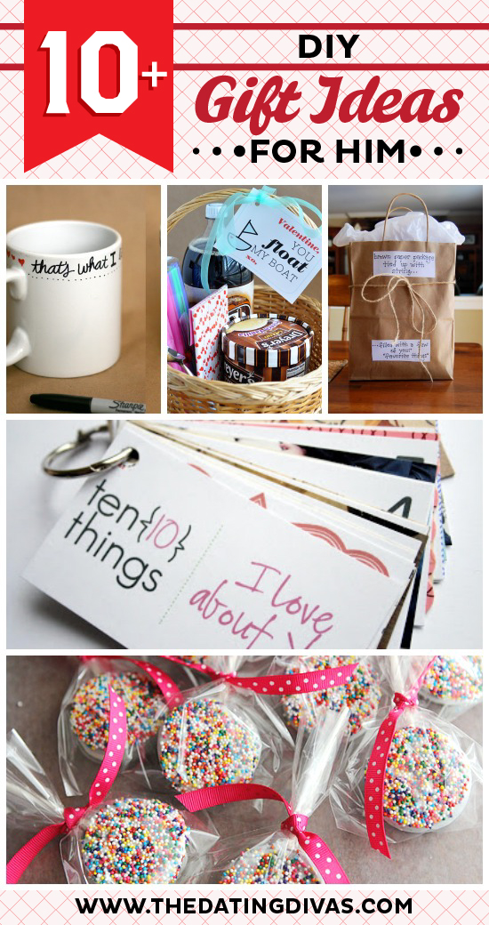 50 just because gift ideas for him from the dating divas for Small valentines gifts for him