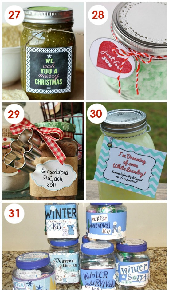 Easy Neighbor Gift Ideas In a Jar