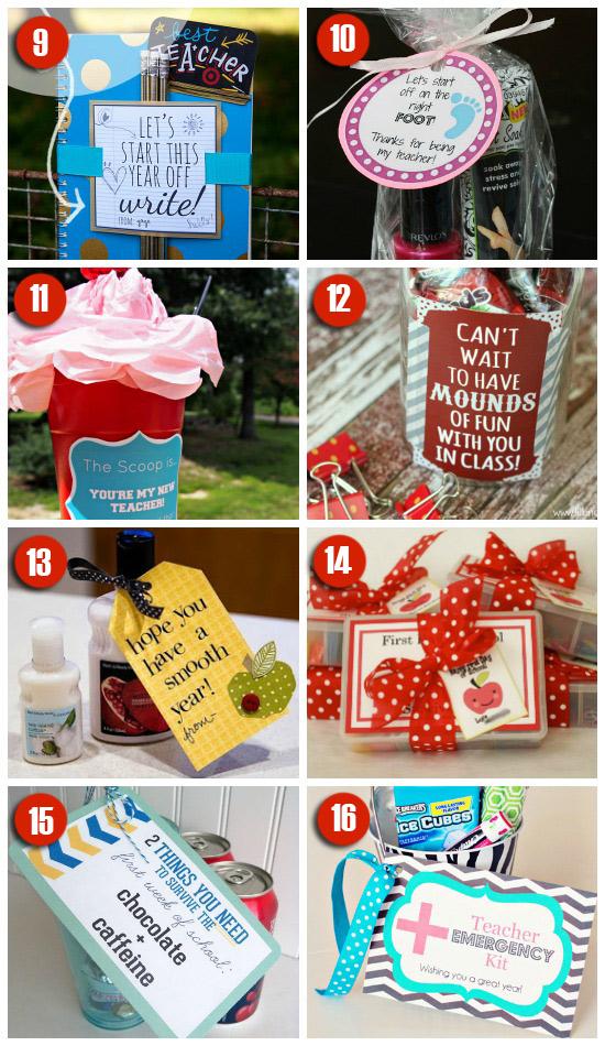 101 Easy & Creative Teacher Gift Ideas – PushUP24