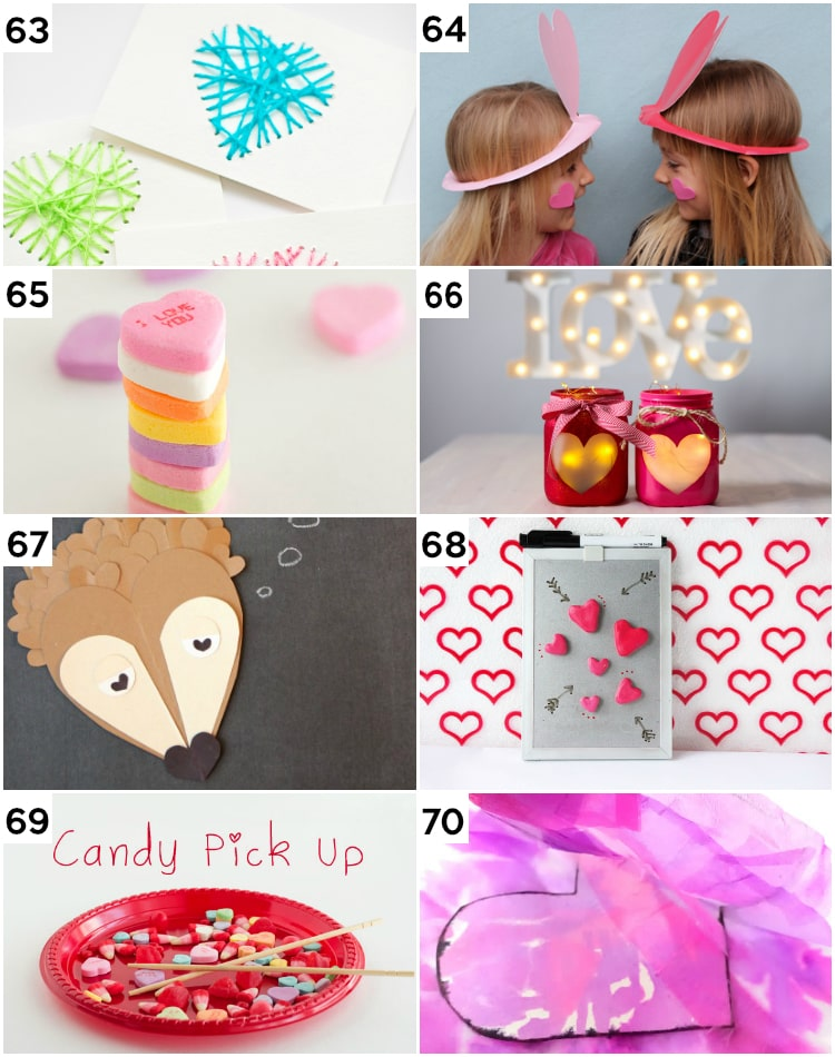 Cute DIY Valentine's Activities and Ideas for Kids